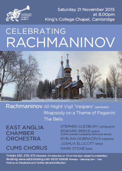 Rachmaninov Chorus poster