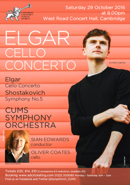 CUMSSO Elgar Cello Concerto