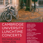 Lunchtime Michaelmas Poster